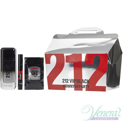 Carolina Herrera 212 VIP Black Комплект (E...
