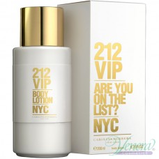 Carolina Herrera 212 VIP Body Lotion 200ml за Жени