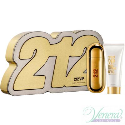 Carolina Herrera 212 VIP Комплект (EDP 80ml + Body Lotion 100ml) за Жени За Жени