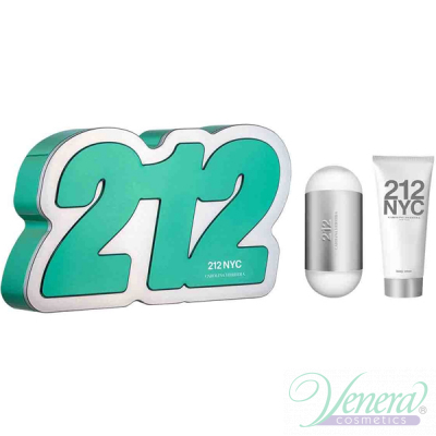 Carolina Herrera 212 Комплект (EDT 60ml + Body Lotion 75ml) за Жени