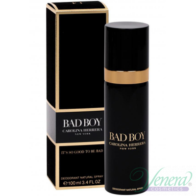 Carolina Herrera Bad Boy Deo Spray 100ml за Мъже
