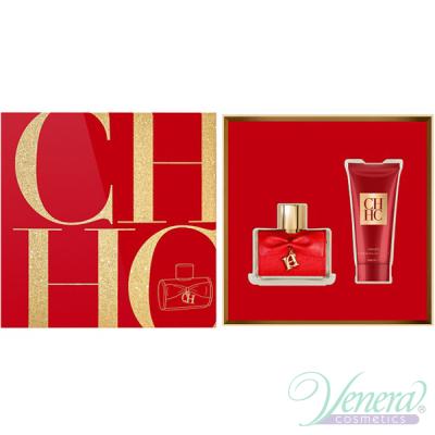 Carolina Herrera CH Privee Комплект (EDP 80ml + Body Cream 100ml) за Жени
