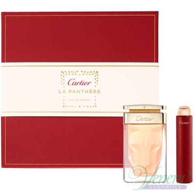 Cartier La Panthere Комплект (EDP 75ml + EDP 15ml) за Жени Дамски Комплекти