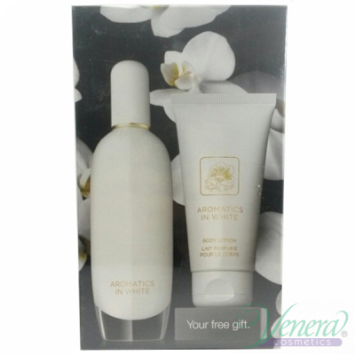 Clinique Aromatics in White Комплект (EDP 100ml + BL 75ml) за Жени