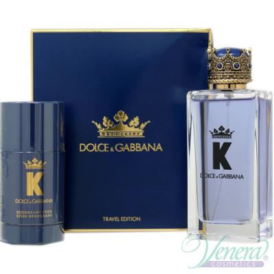 Dolce&Gabbana K by Dolce&Gabbana Set (EDT 100ml + Deo Stick 75ml) за Мъже