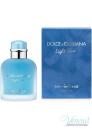 D&G Light Blue Eau Intense Pour Homme EDP 100ml за Мъже БЕЗ ОПАКОВКА Мъжки Парфюми без опаковка