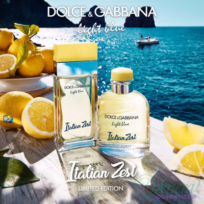 Dolce&Gabbana Light Blue Italian Zest EDT 100ml за Жени Дамски Парфюми