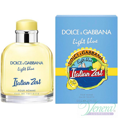 Dolce&Gabbana Light Blue Italian Zest Pour Homme EDT 75ml за Мъже Мъжки Парфюми