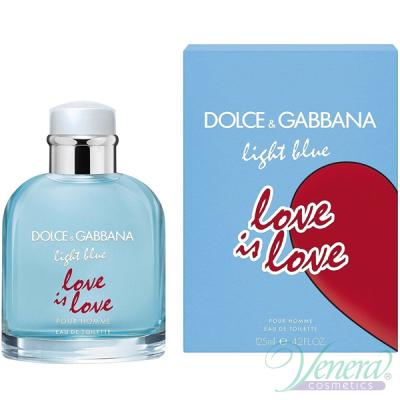 Dolce&Gabbana Light Blue Love Is Love Pour Homme EDT 125ml за Мъже Мъжки Парфюми