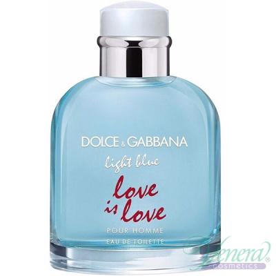 Dolce&Gabbana Light Blue Love Is Love Pour Homme EDT 125ml за Мъже БЕЗ ОПАКОВКА Мъжки Парфюми без опаковка