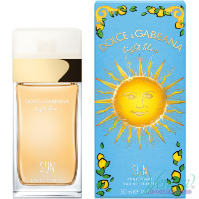 Dolce&Gabbana Light Blue Sun EDT 50ml за Жени Дамски Парфюми