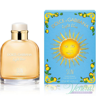 Dolce&Gabbana Light Blue Sun Pour Homme EDT 125ml за Мъже Мъжки Парфюми