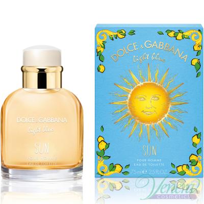 Dolce&Gabbana Light Blue Sun Pour Homme EDT 75ml за Мъже Мъжки Парфюми