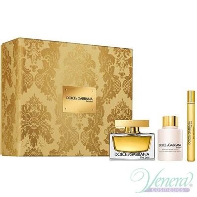 Dolce&Gabbana The One Комплект (EDP 75ml + BL 100ml + EDP 10ml) за Жени Дамски Комплекти