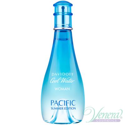 Davidoff Cool Water Pacific Summer Edition EDT 100ml за Жени БЕЗ ОПАКОВКА
