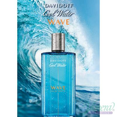 Davidoff Cool Water Wave EDT 125ml за Мъже БЕЗ ОПАКОВКА Мъжки парфюми без опаковка