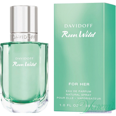 Davidoff Run Wild for Her EDP 30ml за Жени
