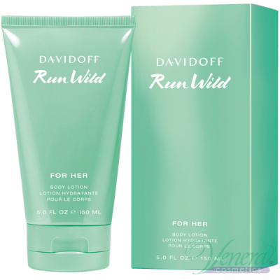 Davidoff Run Wild for Her Body Lotion 150m...