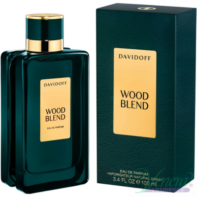 Davidoff Wood Blend EDP 100ml за Мъже и Жени Унисекс Парфюми