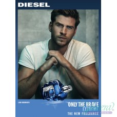 Diesel Only The Brave Extreme EDT 75ml за Мъже БЕЗ ОПАКОВКА