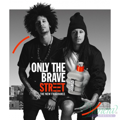 Diesel Only The Brave Street EDT 75ml за Мъже БЕЗ ОПАКОВКА Мъжки Парфюми без опаковка