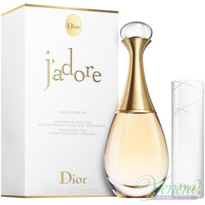 Dior J'adore Комплект (EDP 75ml + EDP 10ml) за Жени Дамски Комплекти