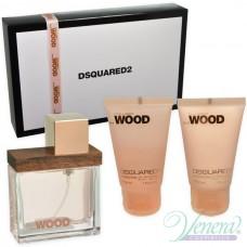 Dsquared2 She Wood Комплект (EDP 30ml + BL 30ml + SG 30ml) за Жени