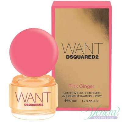 Dsquared2 Want Pink Ginger EDP 50ml за Жени