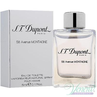 S.T. Dupont 58 Avenue Montaigne EDT 5ml за Мъже