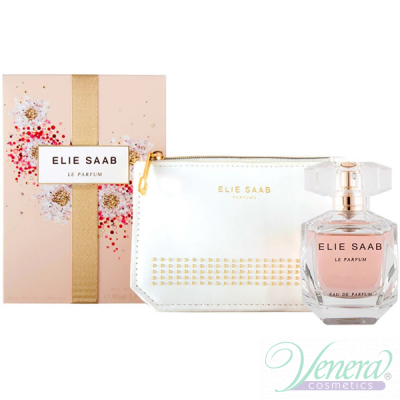 Elie Saab Le Parfum Set (EDP 50ml + Pouch) за Жени Дамски Комплекти