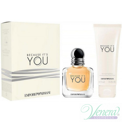 Emporio Armani Because It's You Комплект (...