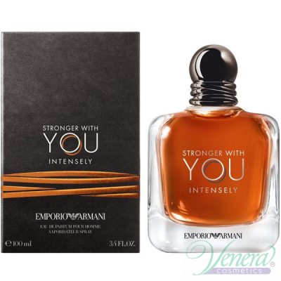 Emporio Armani Stronger With You Intensely EDP 100ml за Мъже Мъжки Парфюми