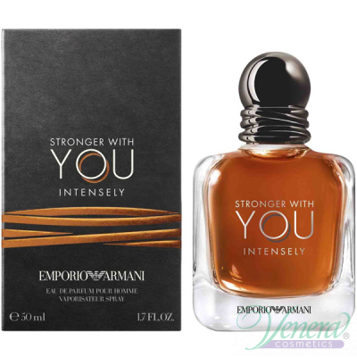 Emporio Armani Stronger With You Intensely EDP 50ml за Мъже Мъжки Парфюми
