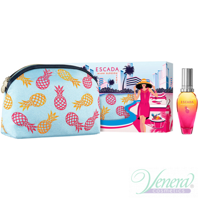 Escada Miami Blossom Set (EDT 30ml + Bag) ...