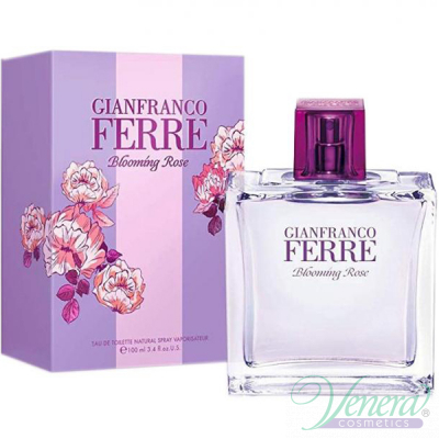 Ferre Blooming Rose EDT 100ml за Жени Дамски Парфюми