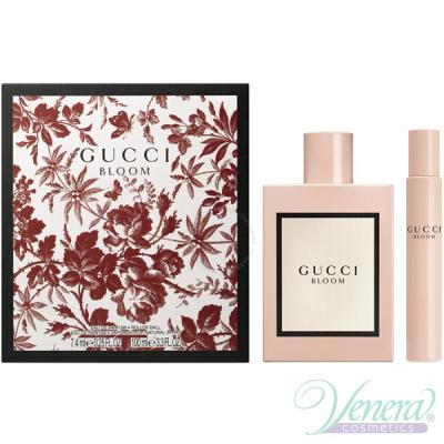 Gucci Bloom Set (EDP 100ml + EDP 7,4ml) за Жени Дамски Комплекти