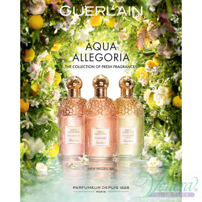 Guerlain Aqua Allegoria Passiflora EDT 125ml for Men and Women Without Package Unisex Fragrances without package