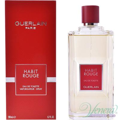Guerlain Habit Rouge EDT 100ml за Мъже Мъжки Парфюми