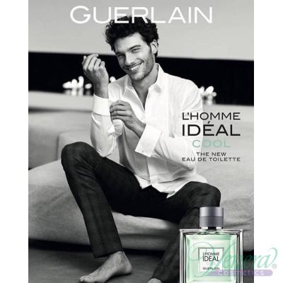 Guerlain L'Homme Ideal Cool EDT 100ml за Мъже БЕЗ ОПАКОВКА Мъжки Парфюми без опаковка