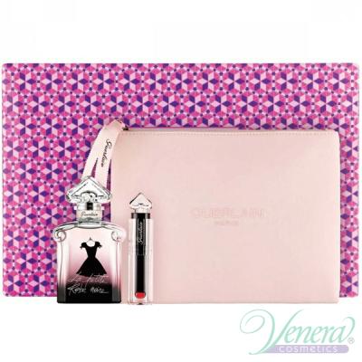 Guerlain La Petite Robe Noire Комплект (EDP 50ml + Lipstick + Bag) за Жени Дамски Комплекти