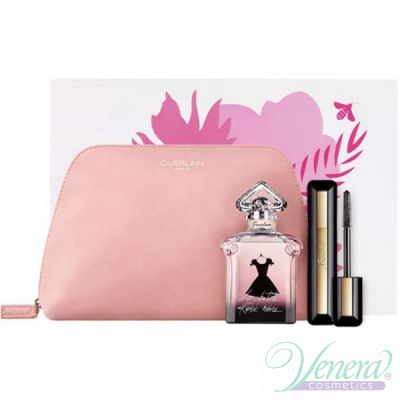Guerlain La Petite Robe Noire Комплект (EDP 50ml + Mascara intensive Volume 8.5ml + Bag) за Жени