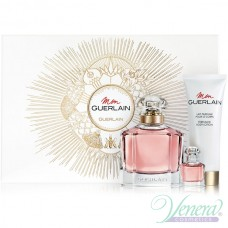 Guerlain Mon Guerlain Комплект (EDP 100ml + EDP 5ml + BL 75ml) за Жени