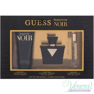 Guess Seductive Noir Комплект (EDT 75ml + EDT 15ml + BL 200ml) за Жени