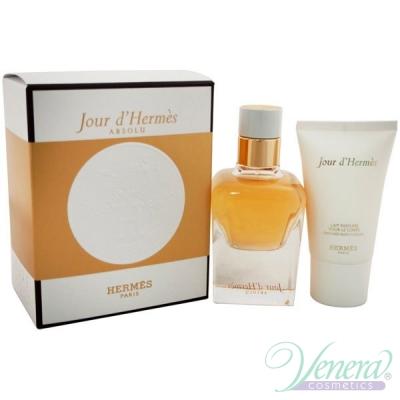 Hermes Jour d'Hermes Absolu Комплект (EDP 50ml + BL 30ml) за Жени Дамски Комплекти