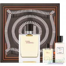 Hermes Terre D'Hermes Комплект (EDT 100ml + EDT 5ml + AS Balm 40ml) за Мъже