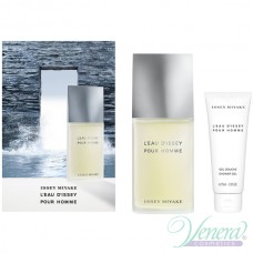 Issey Miyake L'Eau D'Issey Pour Homme Комплект (EDT 75ml + SG 75ml) за Мъже