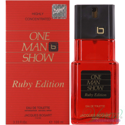 Jacques Bogart One Man Show Ruby Edition EDT 10...