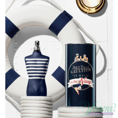 Jean Paul Gaultier Le Male In The Navy Комплект (EDT 125ml + EDT 10ml) за Мъже Мъжки Комплекти