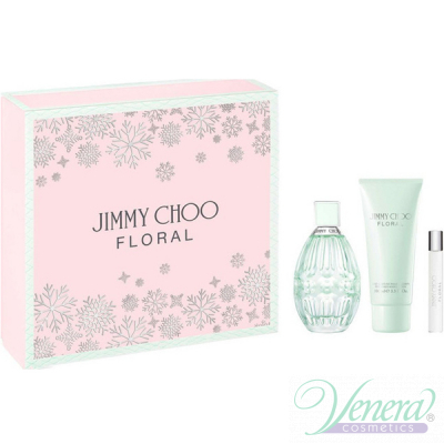 Jimmy Choo Floral Комплекти (EDT 90ml + BL...