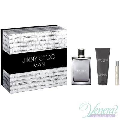 Jimmy Choo Man Комплект (EDT 100ml + AS Ba...